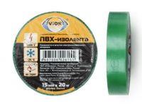 "Изолента 15ммх20м зеленая ""Авиора""5/200 (305-001)"