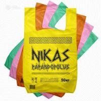 """Пакет """"майка"""" 30+16х55 (35мк) н/д """"NIKАS"""" желтый 100/800 """"Коп"""""""