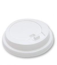 Крышка для стакана с закр.питейником D90мм белый 100/1000