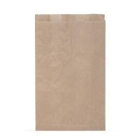 Пакет бумажный 300*170*60 мм КРАФТ коричневый /50/1000 AVIORA