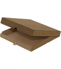 Коробка под пиццу 350*350*40 без печати (БУРЫЙ/БУРЫЙ)  /50уп.