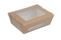 Упаковка 150*115*50 на 600мл. картон. с прозр. окном /350