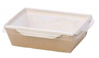 Упаковка (160*120*45) 500мл. картон. с прозр. крышкой ECO OpSalad/200