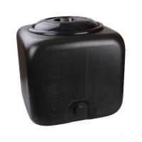 Бак 100л для душевой квадратный черный 2/уп. /М3271