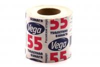 """Бумага туал.  """"Вега-55"""" на втулке 40шт/уп """"Премиум"""""""