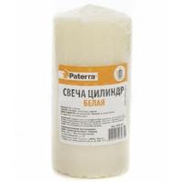 Свеча столбик 60*120мм Белая PATERRA 12/кор.