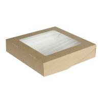 Упаковка 200*200*50 на 1500мл. картон. с прозр. окном /350