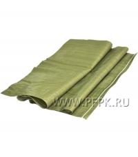 Мешок для строит. мусора 55*95 (40гр) ПП Зеленый 100шт/пач/1000