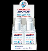 """Гель антисептический для рук """"Smart"""" Эконом 25мл/60"""