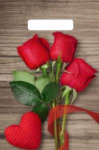 """Пакет с выруб. руч. 20х30 (30мк) в/д """"Свежие розы"""" (100/3000) (Тико)"""