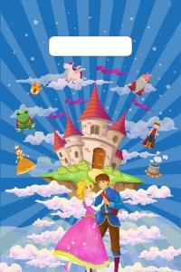 """Пакет с выруб. руч. 20х30 (30мк) в/д """"Замок в облаках"""" (100/3000) (Тико)"""