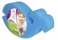 """Губка для тела детская (КИТ синий) 1шт. (155*85*40) ЭДИТ for baby """"АК"""""""