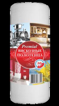 "Полотенца универсальные ""Premial"" 50/рул/12"