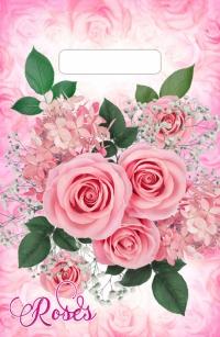 """Пакет с выруб. руч. 20х30 (30мк) в/д """"Воздушные розы"""" (100/3000) (Тико)"""